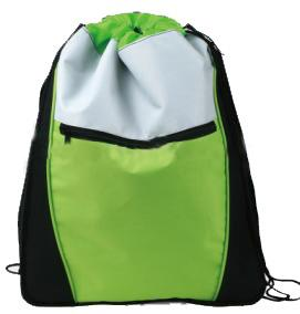Drawstring bag with zipper pocket-Welcome to CreativePromotion